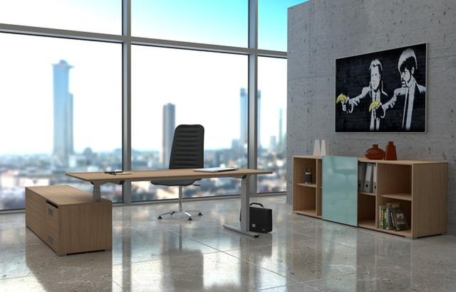 オフィスの机とイス