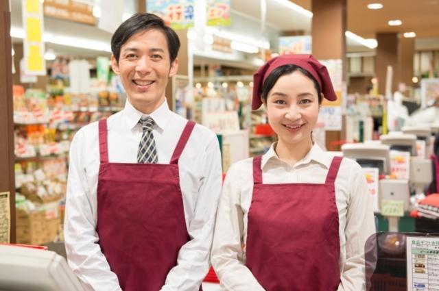 スーパーの店長と店員